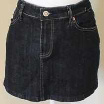 Bitten by Sarah Jessica Parker Denim Mini Skirt Size 10 Bin-Y Photo