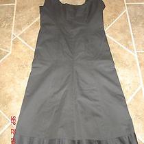 Bitten Sarah Jessica Parker Black Dress Women's 4 Nice Photo