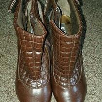 Bitton by Sarah Jessica Parker Shoes High Heels Boots Size 6.5  Photo
