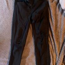 Black American Eagle Stretch Jeans Size 4 Photo