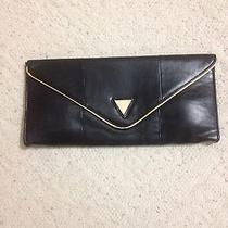 Black and Gold Guess Clutch  Photo