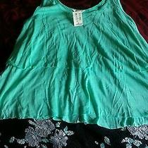 Black and Green Skirt and Top Photo