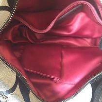 Black and Grey Coach Handbag Photo