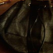 Black and Grey Scuffed Fendi Handbag Photo