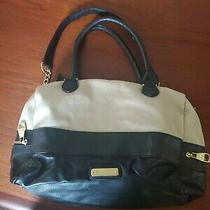 Black and Tan Steve Madden Purse  Photo