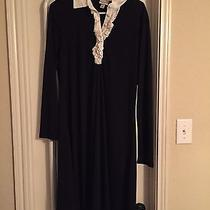 Black and White Collar Dress Photo
