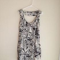 Black and White Flower Dress Photo