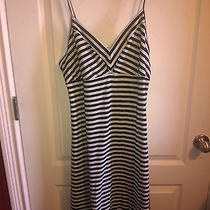 Black and White Striped Dress Photo