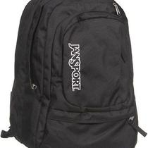Black Backpack by Jansport for High School College Students Mens Womens Photo