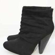 Black Booties Size 7 Photo