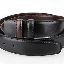 Black Brown Men's Belts Reversible Belt Strap Bally Buckles 35 Mm 1-3/8 Inch 34