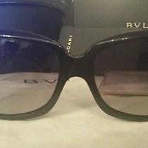 Black  Bvlgari Sunglasses Photo