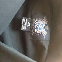 Black Casual Button Up Shirt...armani Exchange...american Eagle Photo