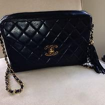 Black Chanel Shoulder Bag Photo