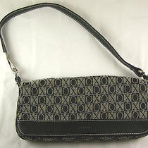 Black Cloth Xoxo Purse Handbag Photo