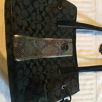 Black Coach Bag and Wallet Photo