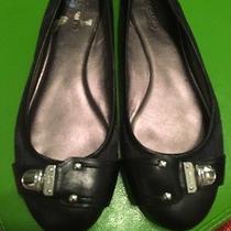 Black Coach Ballerina Flats 7.5 Photo