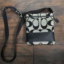 Black Coach Crossbody Bag Photo
