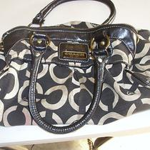 Black Coach Hand Bag Photo