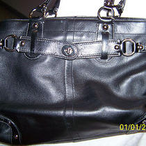 Black Coach Handbag Photo