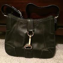 Black Coach Handbag Photo