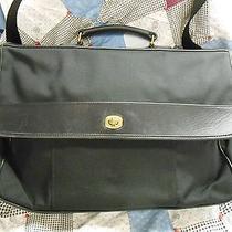 Black Coach Microfiber/nylon & Leather Briefcase Photo