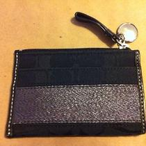 Black Coach Mini Skinny Photo