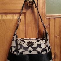 Black Coach Purse Photo