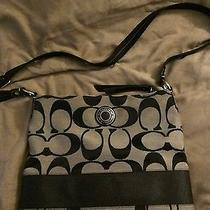 Black Coach Purse Medium Photo