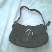 Black Coach Satchel Photo