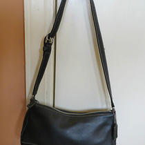 Black Coach Shoulder Bag Photo