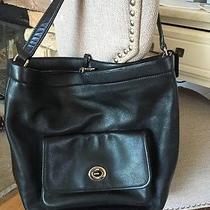 Black Coach Shoulder Bag Photo