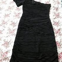 Black Color Very Nice Dress Lycra /spandex  One Shoulder From Arden B Photo