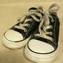 Black Converse 10 Toddler Black Photo