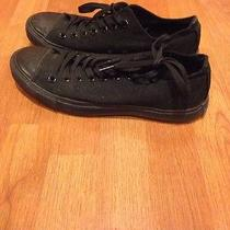 Black Converse All Star Low Top Photo