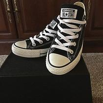 Black Converse All Star Low Top Sneakers Photo