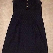 Black Crochet Shoshanna Dress Photo