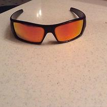 Black Custom  Mens Oakley Gascan Sunglasses Photo