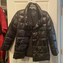 Black Down Coat Gapkids Girls Size 14-16  Photo