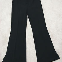Black Escada 100% Pure Wool Designer Pants Size 28 Photo