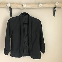 Black Express Blazer Size 0 Business Casual Photo