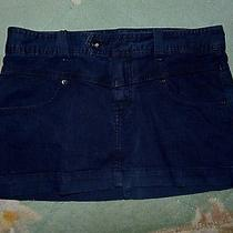 Black Express Jeans Skirt  Sz 10 Photo