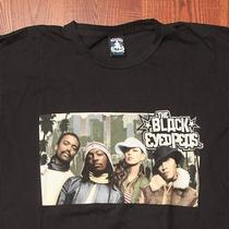 Black Eyed Peas Hip Hop r&b Rap Rock Concert Tour Medium Black T-Shirt Photo