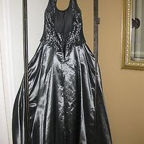 Black Formal Dress Jessica Mcclintock Size 8 Photo