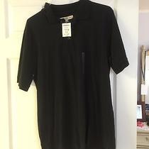 Black Fossil Polo Shirt Xl New Photo