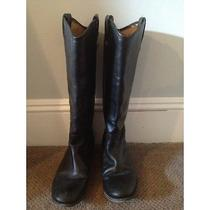 Black Frye Leather Boots  Photo