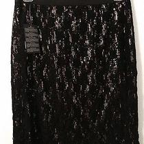 Black & Gold Large Forever 21 Skirt Nwt Photo