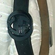 Black Gucci Belt 90cm Photo