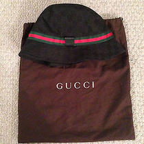 Black Gucci Fedora Large  Photo