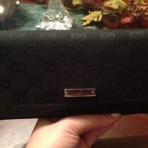 Black Gucci Wallet Photo